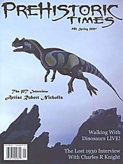 Subscribe to Prehistoric Times