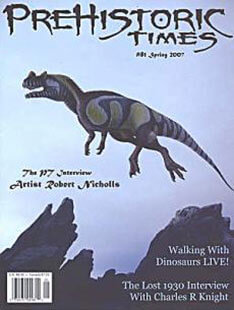 Latest issue of Prehistoric Times