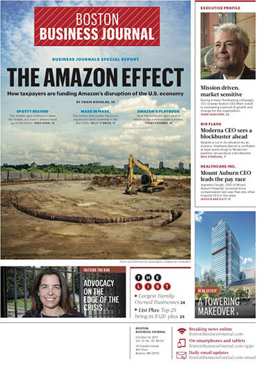 Latest issue of Boston Business Journal
