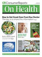 Consumer Reports on Health 1 of 5