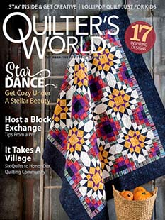 Latest issue of Quilter's World