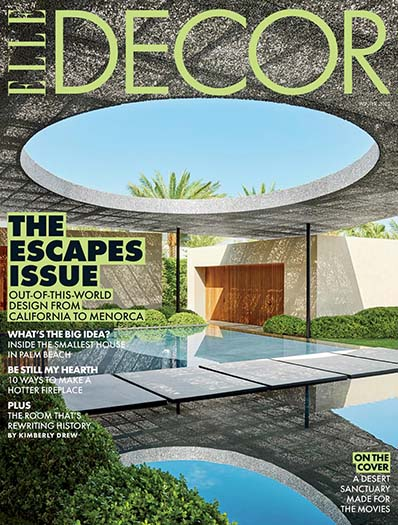 Latest issue of Elle Décor