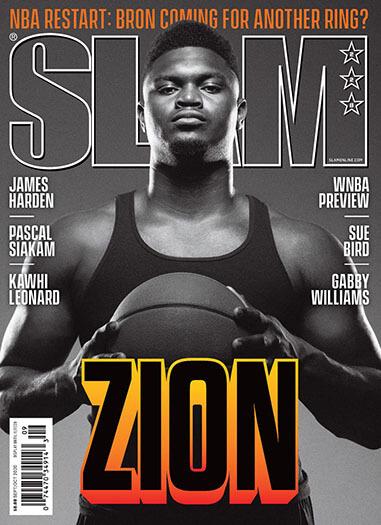 Latest issue of Slam Magazine