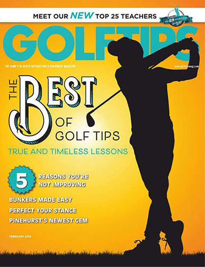Latest issue of Golf Tips