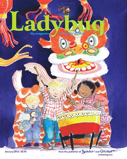 Latest issue of Ladybug Magazine
