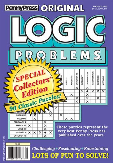 Latest issue of Original Logic Problems Magazine