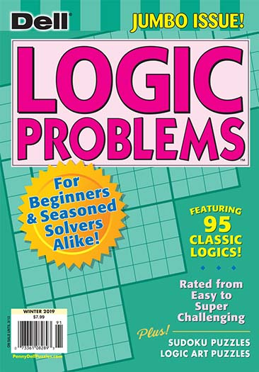 Latest issue of Dell Logic Problems