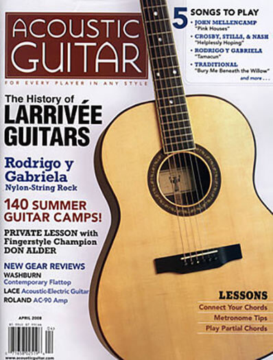 Latest issue of Acoustic Guitar