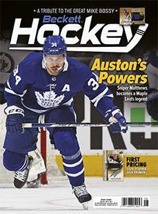 Latest issue of Beckett Hockey