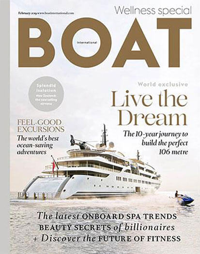 Latest issue of Boat International US
