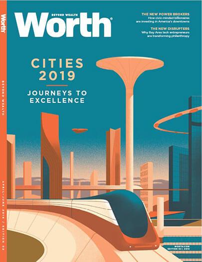 Latest issue of Worth Magazine