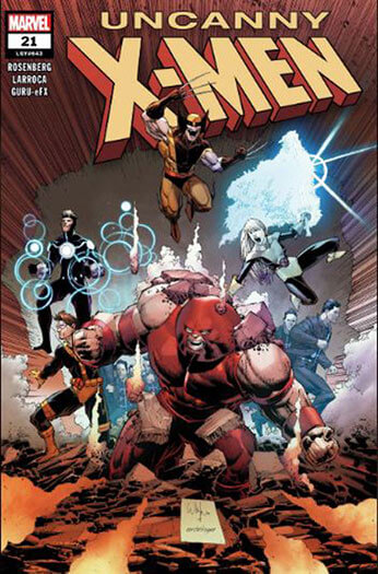 Latest issue of Uncanny X-Men Magazine