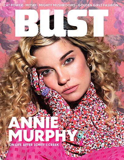 Latest issue of Bust Magazine