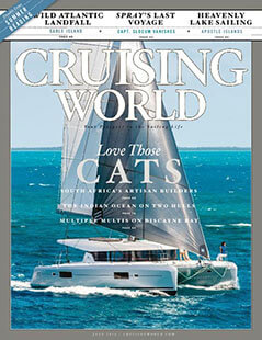 Latest issue of Cruising World