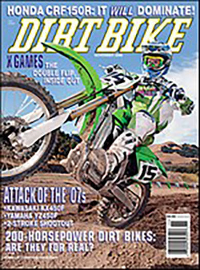 Latest issue of Dirt Bike