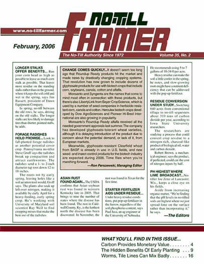 Latest issue of No-Till Farmer