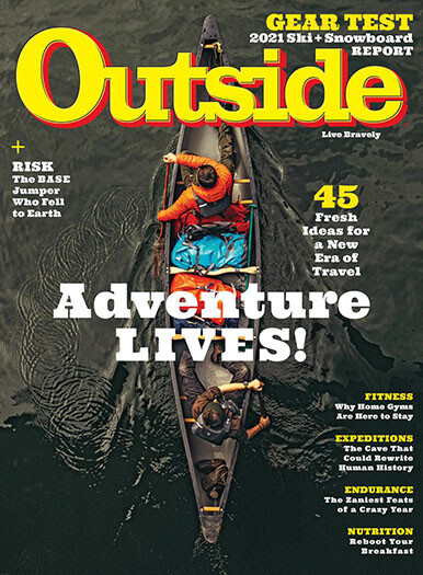 Latest issue of Outside Magazine