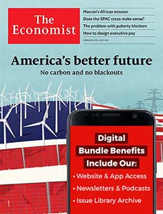 Latest issue of The Economist Magazine