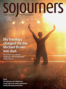 Latest issue of Sojourners Magazine