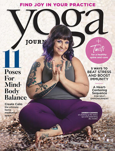 Latest issue of Yoga Journal Magazine
