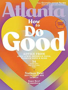 Latest issue of Atlanta Magazine