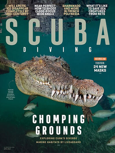Latest issue of Scuba Diving Magazine
