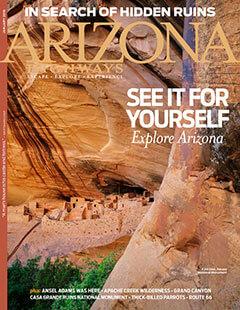 Latest issue of Arizona Highways