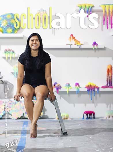 Latest issue of SchoolArts Magazine