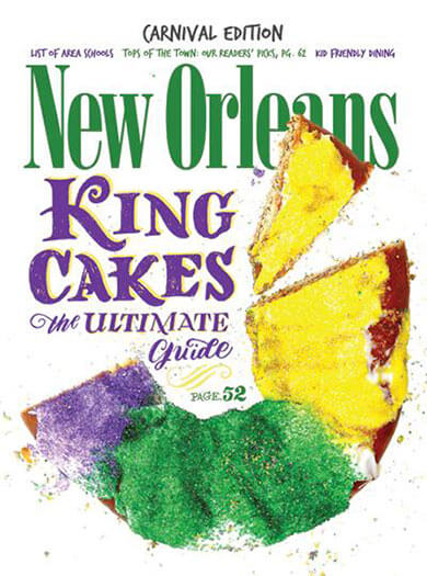 Latest issue of New Orleans Magazine