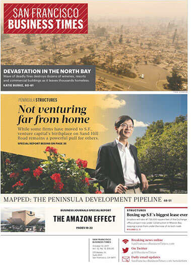 Latest issue of San Francisco Business Times Magazine