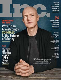 Latest issue of Inc. Magazine