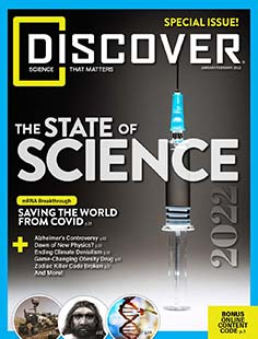 Latest issue of Discover Magazine