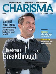 Latest issue of Charisma Magazine