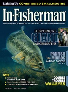 Latest issue of In-Fisherman Magazine