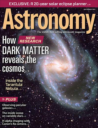 Latest issue of Astronomy