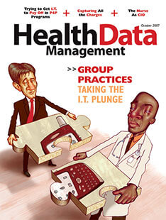 Latest issue of Health Data Management Magazine