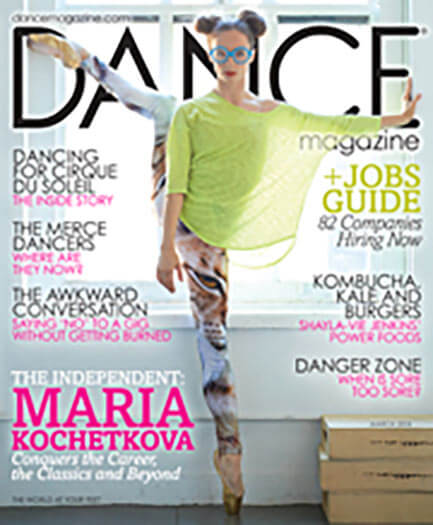 Latest issue of Dance Magazine