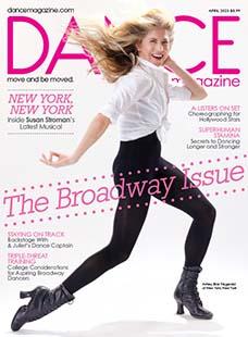 Latest issue of Dance Magazine
