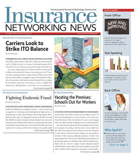 Latest issue of Insurance Networking News