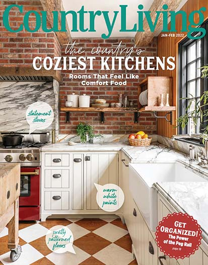 Latest issue of Country Living