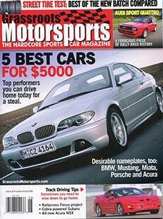 Latest issue of Grassroots Motorsports
