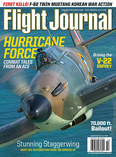 Latest issue of Flight Journal