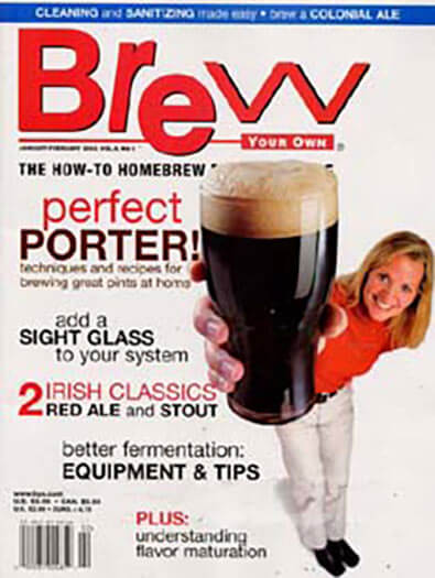 Latest issue of Brew Your Own