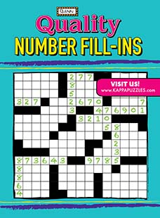 Latest issue of Quality Number Fill-Ins Magazine