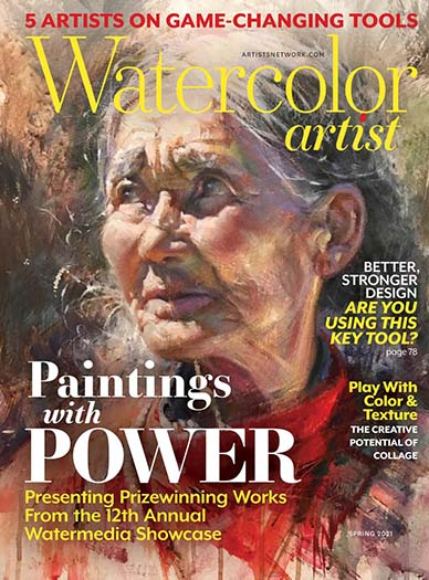 Latest issue of Watercolor Artist Magazine