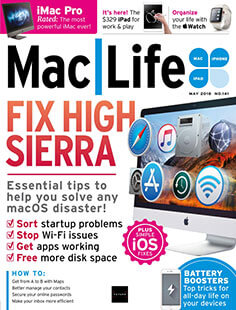 Latest issue of Mac Life Magazine