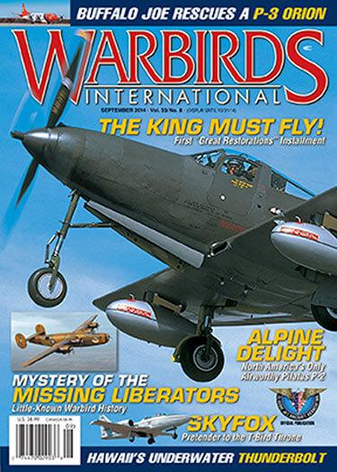 Latest issue of Warbirds International Magazine