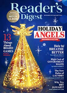 Latest issue of Reader's Digest Large Print