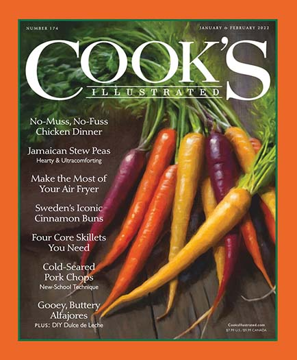 Latest issue of Cooks Illustrated