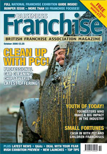 Latest issue of Business Franchise